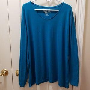 Just My Size blue t-shirt sz 5X